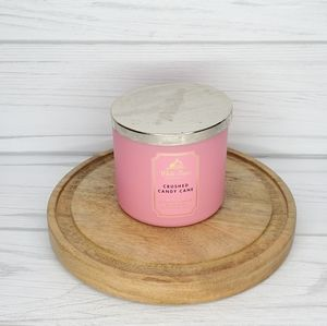 WHITE BARN CRUSHED CANDY CANE 3 WICK CANDLE